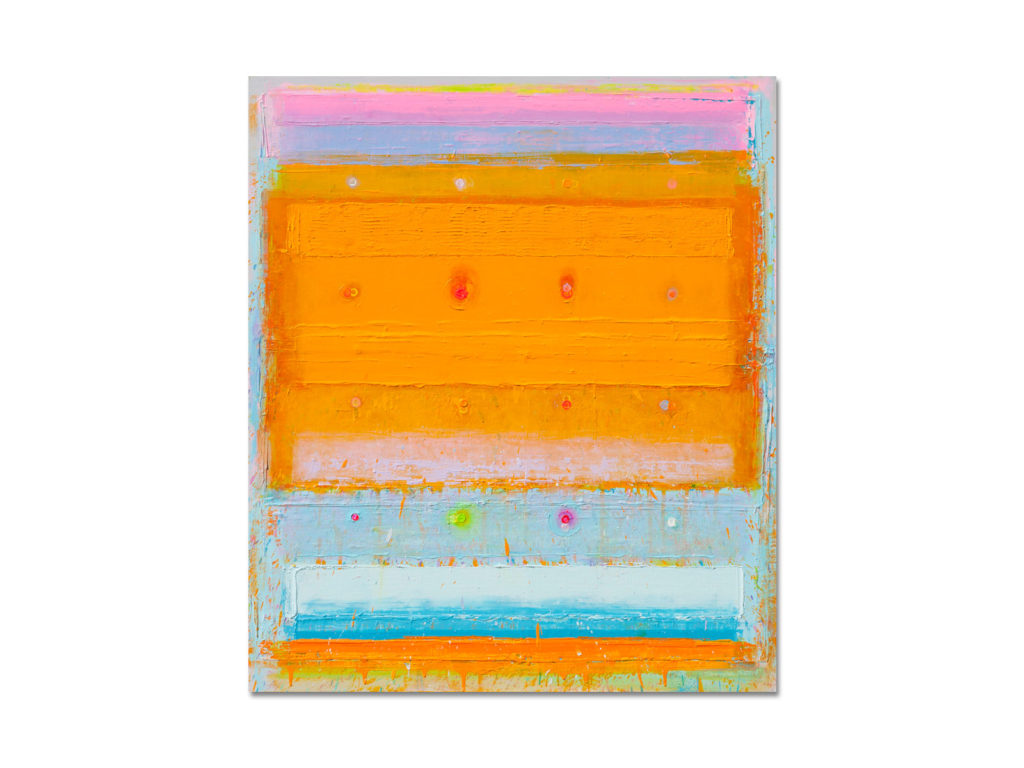 THERMAL COMPOSITION NO 11 / 140 x 120 cm / 2015